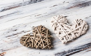 Picture love, heart, hearts, love, wood, romantic, hearts, valentine's day