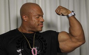 Picture pose, muscle, muscle, biceps, bodybuilder, bodybuilder, Olympia, Phil Heath, Phil Heath