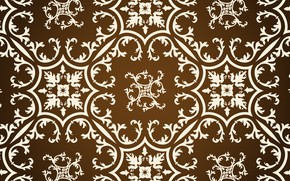 Picture pattern, texture, gold, brown, ornament, vintage