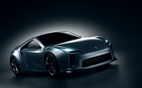 Picture design, transport, shadow, car, Toyota Supra Concept