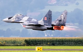 Picture Fighter, The fast and the furious, The MiG-29, Polish air force