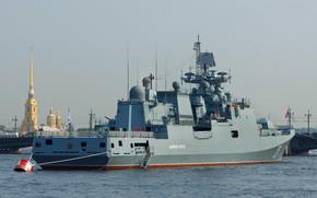 Picture frigate, Neva, Admiral Essen