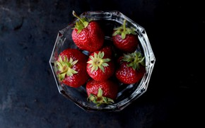 Picture strawberry, berry, delicious