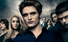 Picture family, vampires, Twilight, The Twilight, The Cullens