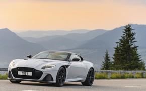 Picture road, Aston Martin, DBS, Superleggera, 2018