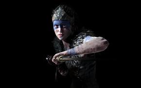 Picture the game, Game, action, adventure, Bright blade, Senua, Hellblade Senuas Sacrifice, Senuas Sacrifice