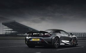 Picture grey, McLaren, side, 2020, 765LT