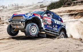 Picture Sand, Auto, Mini, Sport, Desert, Machine, Race, Car, Rally, Dakar, Dakar, SUV, Rally, X-Raid Team, …