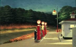 Picture 1940, Gas, Edward Hopper