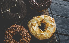 Picture Food, Wallppaper, Sweetness, Doughnut
