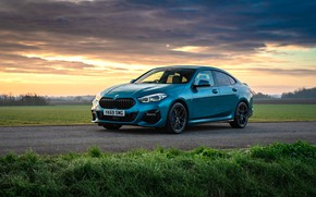 Picture sunset, the evening, BMW, Gran Coupe, UK-spec, 2-Series, M Sport, 2020, 218i, F44