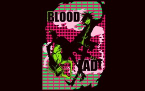 Picture anime, art, vampire, Bloody guy, Blood.Lad