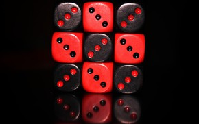 Picture the game, Cube - The Game, Bones, red., black, Cube