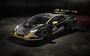 Picture machine, light, lights, Lamborghini, sports car, Huracan, Super Trofeo Evo Collector