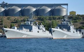 Picture frigates, Admiral Essen, Admiral Grigorovich, patrol ships