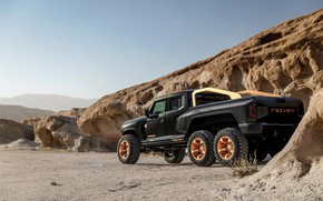 Picture pickup, side, Rezvani, 2020, Hercules 6x6