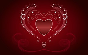Picture stars, love, heart
