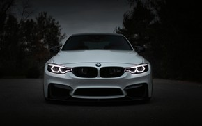 Picture BMW, Light, Front, White, Evening, Face, F80, Sight, Adaptive LED