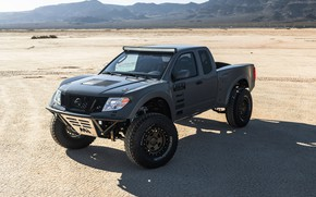Picture drought, Nissan, pickup, 2019, 600 HP, V8 turbocharged, 5.6 L., Frontier Desert Runner Concept