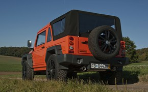 Picture orange, SUV, 2011, 4x4, spare wheel, Travec, Tecdrah Integrale 1.5 TTi, Renault/Dacia Duster, frame