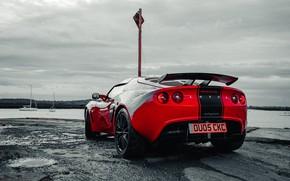 Picture car, machine, red, Lotus, Lotus, sports car, sportcar, Requires