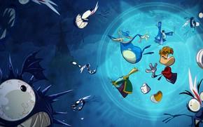 Picture the game, game, Ubisoft, adventure, platformer, Rayman Origins
