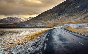 Picture Iceland, Snæfellsnes Peninsula, Road to Nowhere
