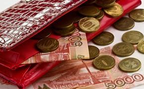Picture money, coins, rubles