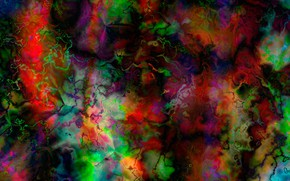 Picture abstraction, cracked, stone, divorce, texture, bright colors, colorful, texture, stone background, the drawing on the …
