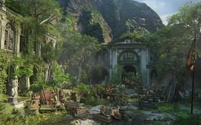 Picture Naughty Dog, Playstation 4, Uncharted 4, barricades, Libertaliya