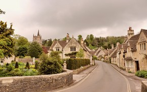 Picture street, England, village