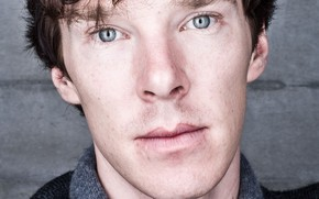 Picture eyes, look, face, Benedict Cumberbatch, Benedict Cumberbatch, British actor