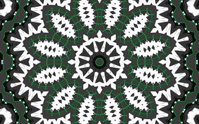 Picture flower, pattern, round, kaleidoscope