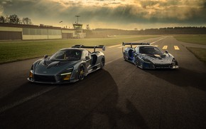 Picture McLaren, pair, GTR, supercars, Senna, Novitec, 2020