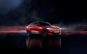 Picture Mustang, Ford, crossover, EU-Spec, 2020, electrocreaser, Mach-E