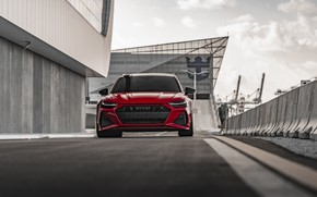 Picture Audi, Front, Quattro, RED, Before, RS6
