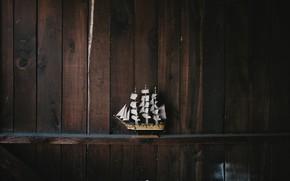 Picture model, ship, shelf, andrew neel