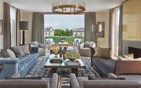 Picture room, interior, terrace, living room, London, Knightsbridge