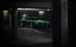 Picture Auto, Green, Machine, Dodge, Charger, Dodge Charger, 1974, Mikhail Sharov, Transport & Vehicles, by Mikhail …