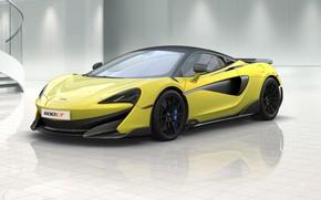 Picture rendering, McLaren, supercar, 2018, 600LT