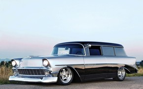 Picture Bel Air, Chevy, Wagon, Nomad, 210