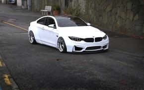 Picture Auto, White, BMW, Machine, BMW, Rendering, Rendering, Concept Art, BMW M4, Transport & Vehicles, Rostislav …