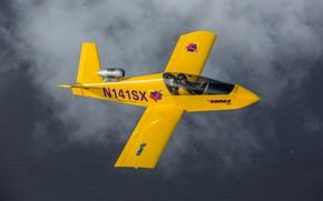 Picture flight, the plane, pilot, jet, easy, Sonex