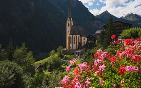 Picture mountains, Austria, Church, Carinthia, Holy blood