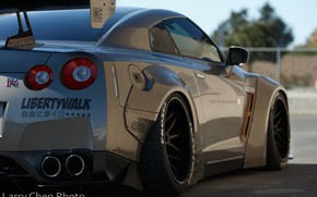 Picture Nissan, GT-R, style, R35, Wheels, Liberty Walk, Larry Chen