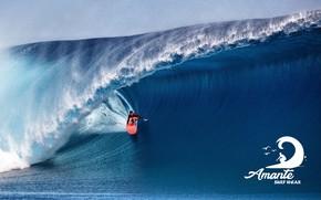 Picture logo, wave, Surf, Amante