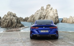 Picture coupe, BMW, rear view, 2019, BMW M8, M8, M8 Competition Coupe, M8 Coupe, F92