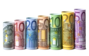 Picture money, Euro, currency, bills, fon, money, euro, banknotes, banknotes