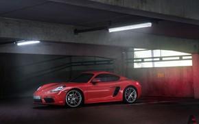 Picture Red, Auto, Porsche, Machine, Cayman S, Transport & Vehicles, by Kanishk Rathore, Kanishk Rathore, S-GO-1147, …