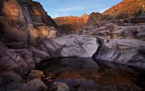 Picture rocks, canyon, AZ, gorge, Arizona, Tonto National Forest, Hieroglyphic Canyon Trail